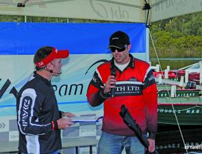 Mark Hayes continued his winning form from earlier in the season, securing the non-boater title.