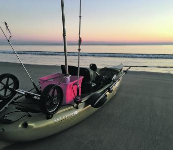 Early starts are the go at this time of year. You want to be on the water as the sun is rising.