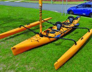 The Hobie Mirage Tandem Island is packed full of great features.