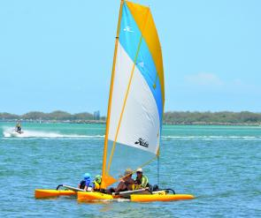 MirageDrive pedalling system is a fantastic piece of equipment and works by peddling two underwater flippers that propel the Hobie Mirage with surprising speed and ease.