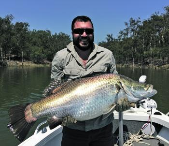 Dave caught an awesome 104cm beast.