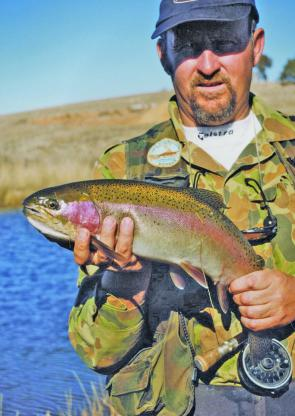 Most of the rainbows have spawned by now, providing new fish to replenish the streams and lakes.