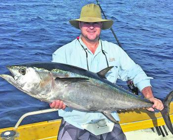 James Orr boated this quality northern bluefin tuna at North Reef.