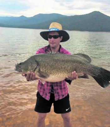 Benny Millot took this metre fish in Eildon recently.