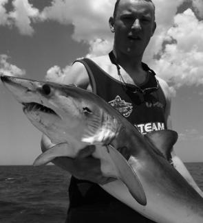 Good numbers of makos have been taken offshore, with plenty in the 20 to 30kg range.