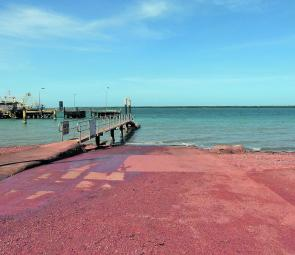Around Weipa there's red dust everywhere. It's a good idea to secure your gear in big garbage bags.