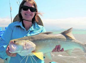 Fish like Bianca's threadfin will now become our number one target in November.