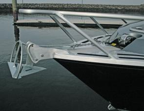 The electronic winch makes anchoring a breeze
