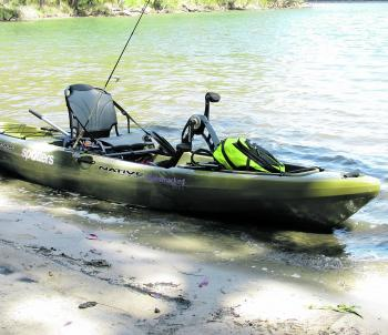 The Native Slayer 13 is perfect for fishing Berringer Lake.