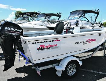 Strong, reliable and stylish, Brisbane Marine have a huge range of Anglapro boats to look at.