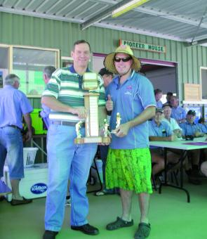 Matty Page of Kingaroy took out the Heaviest Australian Bass title sponsored by Wondai Accounting and Tax Services.