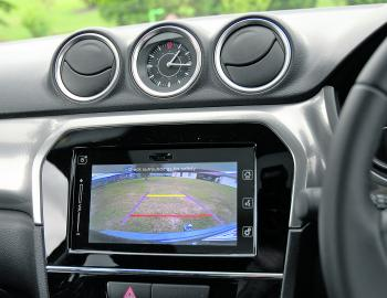 A clear reversing camera like this is a feature missing from some high-end 4x4s that cost double the price.