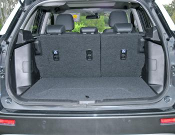 The Vitara's luggage space is generous, particularly when the rear seats are folded down.