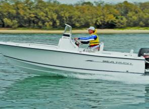 The Sea Hunt Triton 177 looks a treat and goes well.