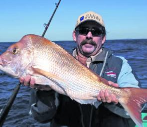 Snapper season is a feature of southeast Queensland's fishing calendar. Float lining pillies is a very effective way to get into a couple of big reds.
