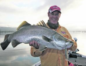 Proserpine barra will be keen on shallow hardbodies like the Halco Laser Pro when fished to the points in the timber.