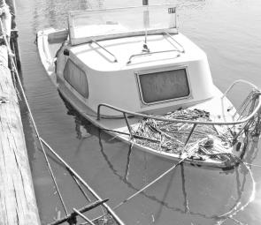 A little rain and wind and your moored boat can face real problems.