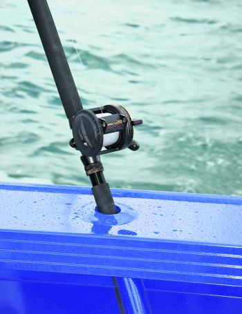 The rod holders on the gunwales are welded in including a solid gimbal at the base to give you plenty of confidence that your expensive rod and reel is going nowhere!