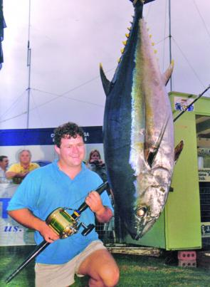 Big-eye tuna are becoming more regular catches in the waters off Bermagui.