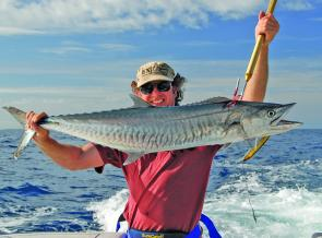 Spanish Mackerel are a serious target for offshore anglers during September.