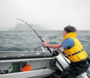 It isn't a cake walk out there, conditions can be tough weather-wise, but this often brings the fish on.