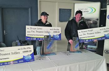 All smiles at the first annual Portland Tuna Competition – congratulations at all involved. (Photo courtesy of Wildblue)