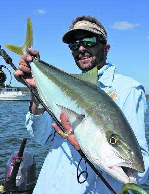 If the water temperature stays high, there will still be a few kingfish about inshore.