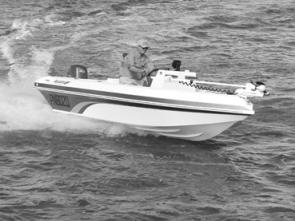 The Dash 5 won't slip in a hard turn – the strakes under the hull and low horsepower makes it foolproof.