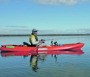 Pumicestone Passage was a great location to test the Aquayak Ranger kayak. A morning glass out made it a pleasure to go for a paddle.