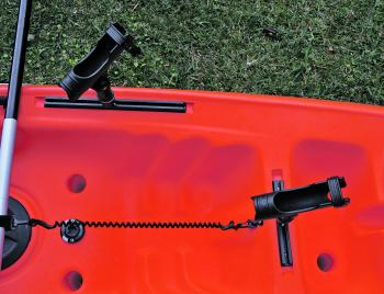 The Railblaza systems that Aquayak Kayaks use are exceptional. The versatility they provide means every angler can adjust it to their needs.