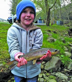 Our local stream trout are always fun if you don't have time for long hours on the water, kids love messing about the banks too.