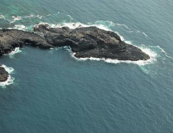 Blowhole Point from the air – just one of the prime LBG spots in the area.