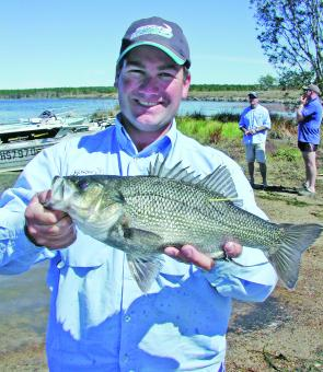 Veteran bass angler, Chris Horne, took out fourth place.