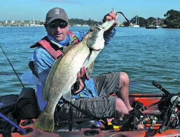 Andy Young was happy with this inshore king.