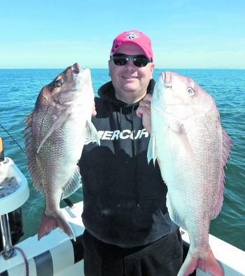 Mercury Australia's marketing manager Anthony Brown is sure to be into more reds like this during October.