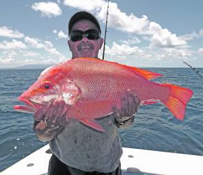 May is the month the nannygai will be on the chew. Bag limits can be reached very quickly when these red devils are on.