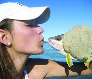 This poor girl must of run out of frogs to kiss!
