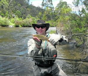 Trout streams have been invigorated by rain from intermittent summer storms throughout the Canberra region. Some nice fish have been taken on fly and lure.