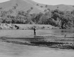 The Goulburn River between Seymour and the Eildon Pondage provides endless opportunities for trout fishing using many different techniques (image courtesy of Marc Ainsworth).