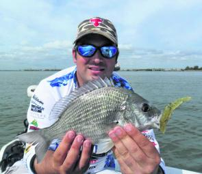Shane Wolhuter of the Evolution Fishing Team and Shad's Lures put the switch baiting system to great effect in his win at the Gold Coast Sportfishing Club's Easter Classic