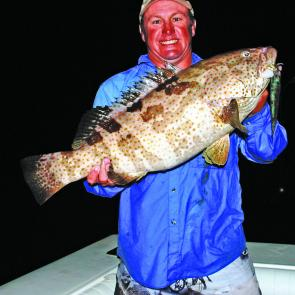 Cod are a great saltwater alternative to barra in the coming months.