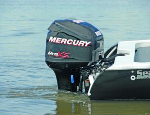 The Mercury Pro XS was a powerful engine, well suited to the solid Seascape hull.
