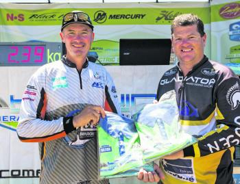 Mark Lennox and Tony Neal took top honours at the second event of the BassCat BASS Pro Series.