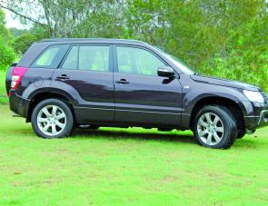 The Grand Vitara's styling has not changed significantly in the new model so it's still a very attractive vehicle.