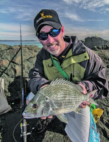 The bream may be far fewer than summer but the quality sure makes up for it.