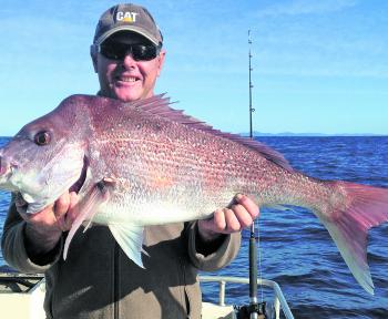 Big pink bream like this are available reasonably close to shore.