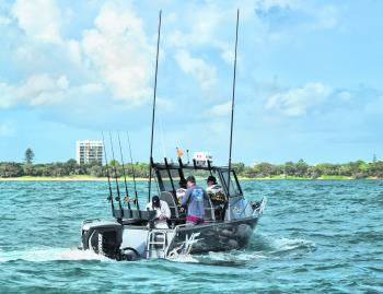The 7400 is an absolute offshore fishing machine.