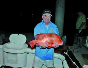 David Hillier with a great looking red emperor. They are an awesome fish to target for August.
