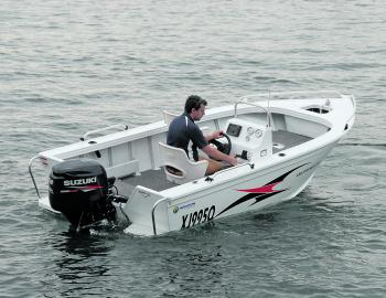 Horizon's 438 Stryker is an estuary craft with potential to cater for a lot of fishing scenarios.