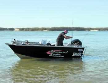 The Quintrex Renegade 460 is one estuary craft that could easily fulfil everything from sheltered to more exposed water fishing.